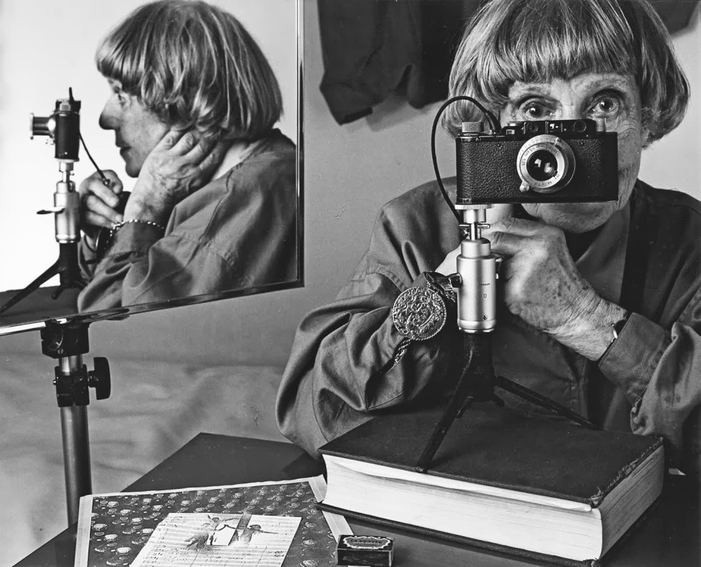 © Ilse Bing, Self-Portrait in Mirrors, 1986