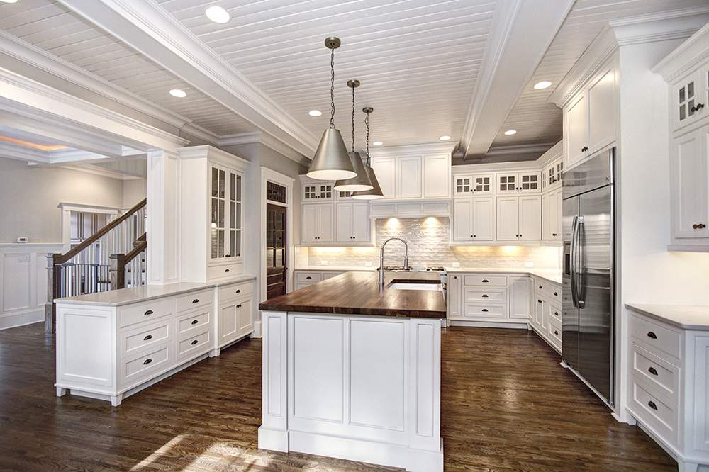 Custom Craftsman Kitchen Design   Carolina Craftsman Builders