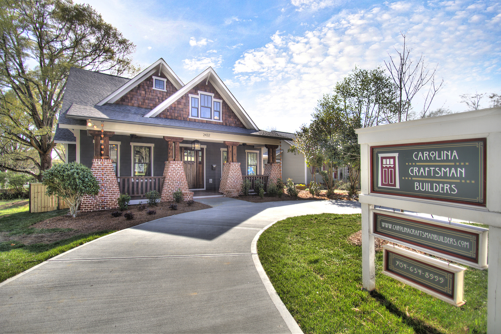 About carolina craftsman builders for Craftsman home builders charlotte nc