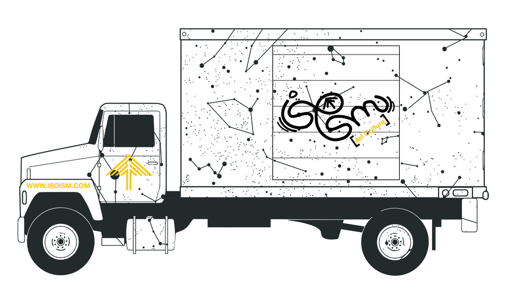 Isoism Art Culture fashion truck. Fund us on Kickstarter.