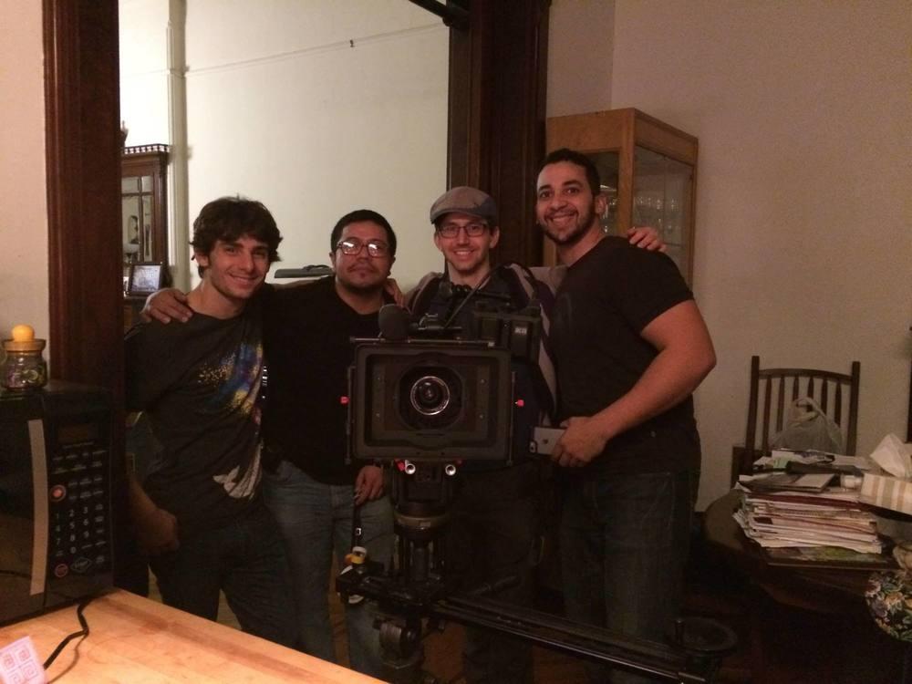 PM/ADAdam Egizi, AC Omar Portilla, Dir. Daniel Goldberg, and DP Jonathan Fuentes