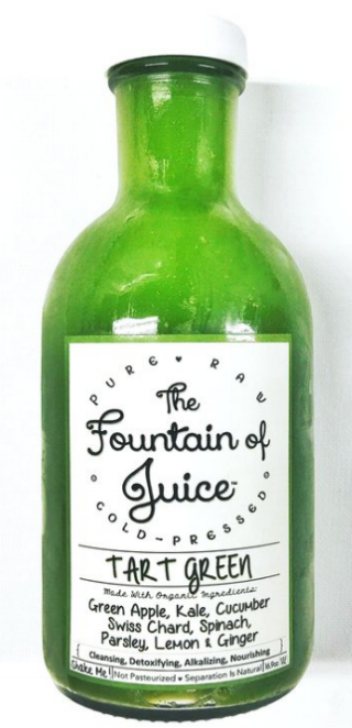 Tart Green, The Fountain of Juice, Nashville