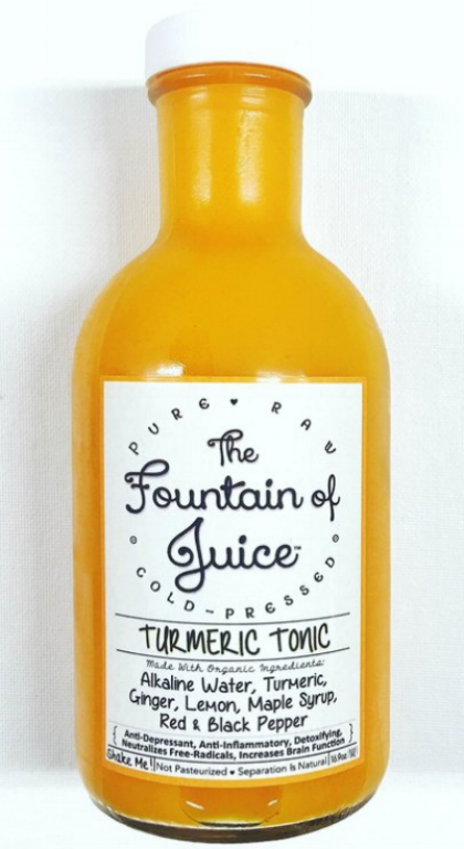Turmeric Tonic, The Fountain of Juice, Nashville