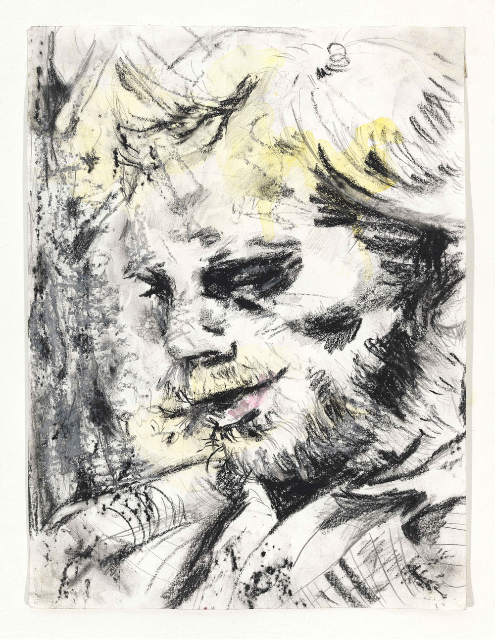 Pencil, Charcoal, Watercolor on Paper  2013