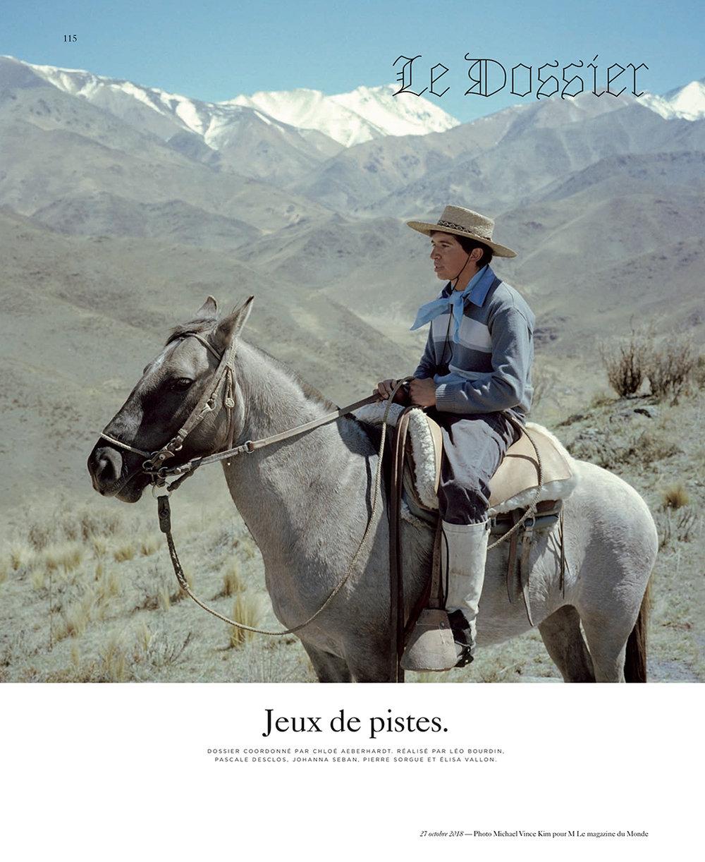 Le Monde: La route des bodegas d'Argentine