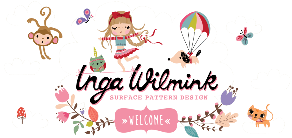 Inga Wilmink - Surface Pattern Designer