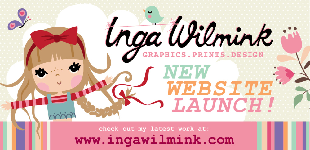 inga wilmink website launch