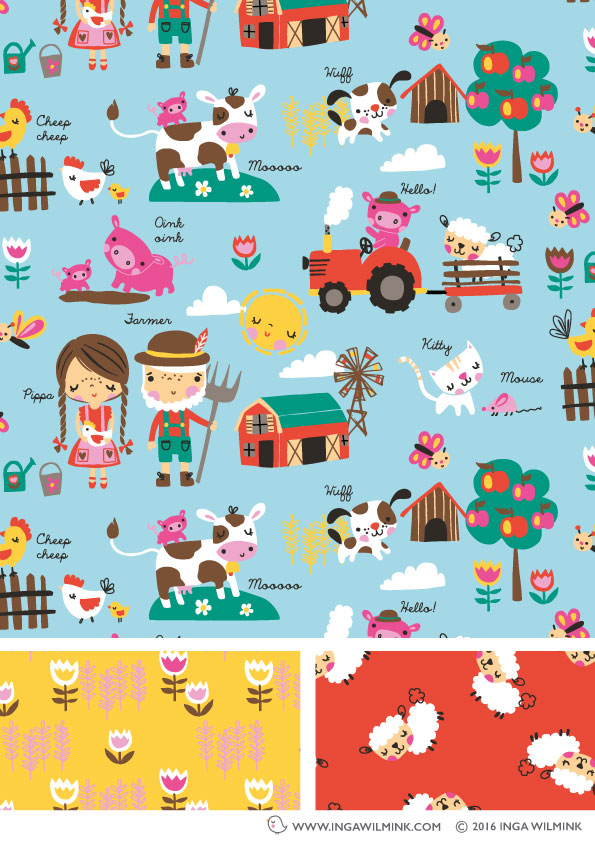 Inga Wilmink - Illustration - Old McDonalds Farm