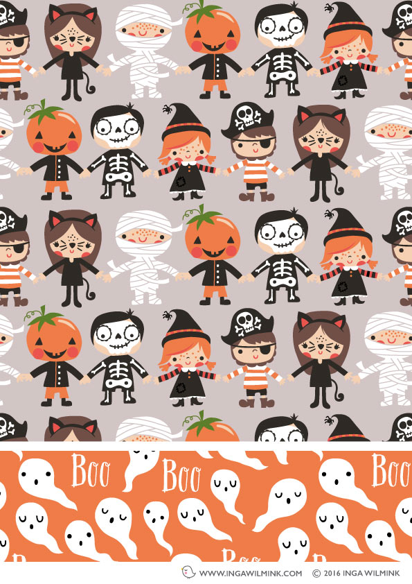 Inga Wilmink - Illustration - Halloween Parade
