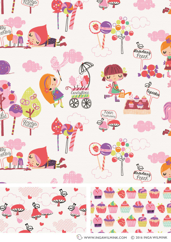 Inga Wilmink - Illustration - Sweet Life