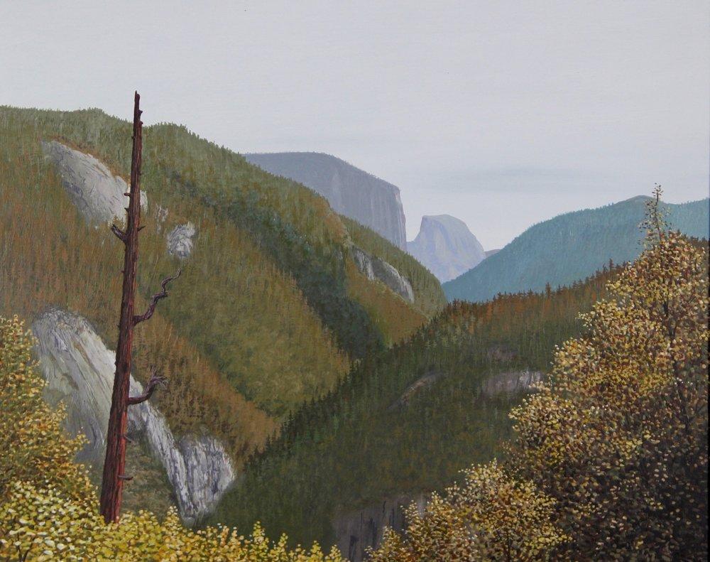 "Valley in Yosemite   11"" x 14"""