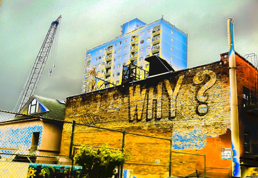 MJB Why?  Archival Pigment Print. 2015: Edition of 3 $250