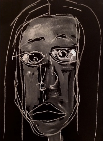 Black & White/Woman' Face