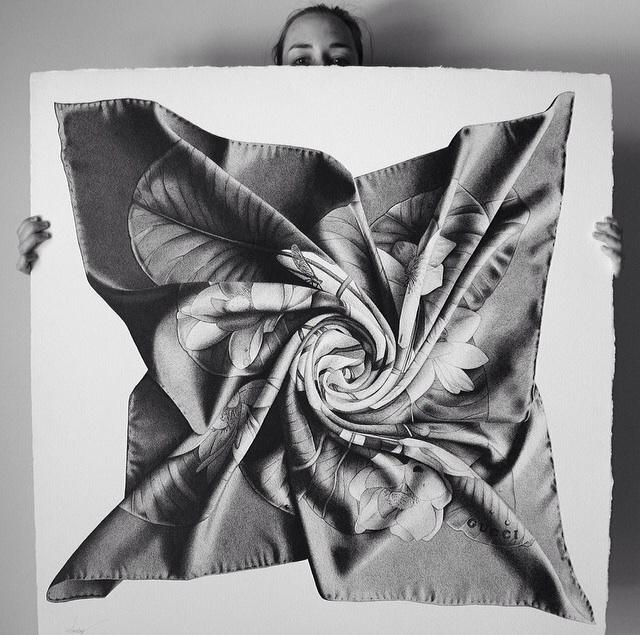 CJ Hendry - Hermes scarf