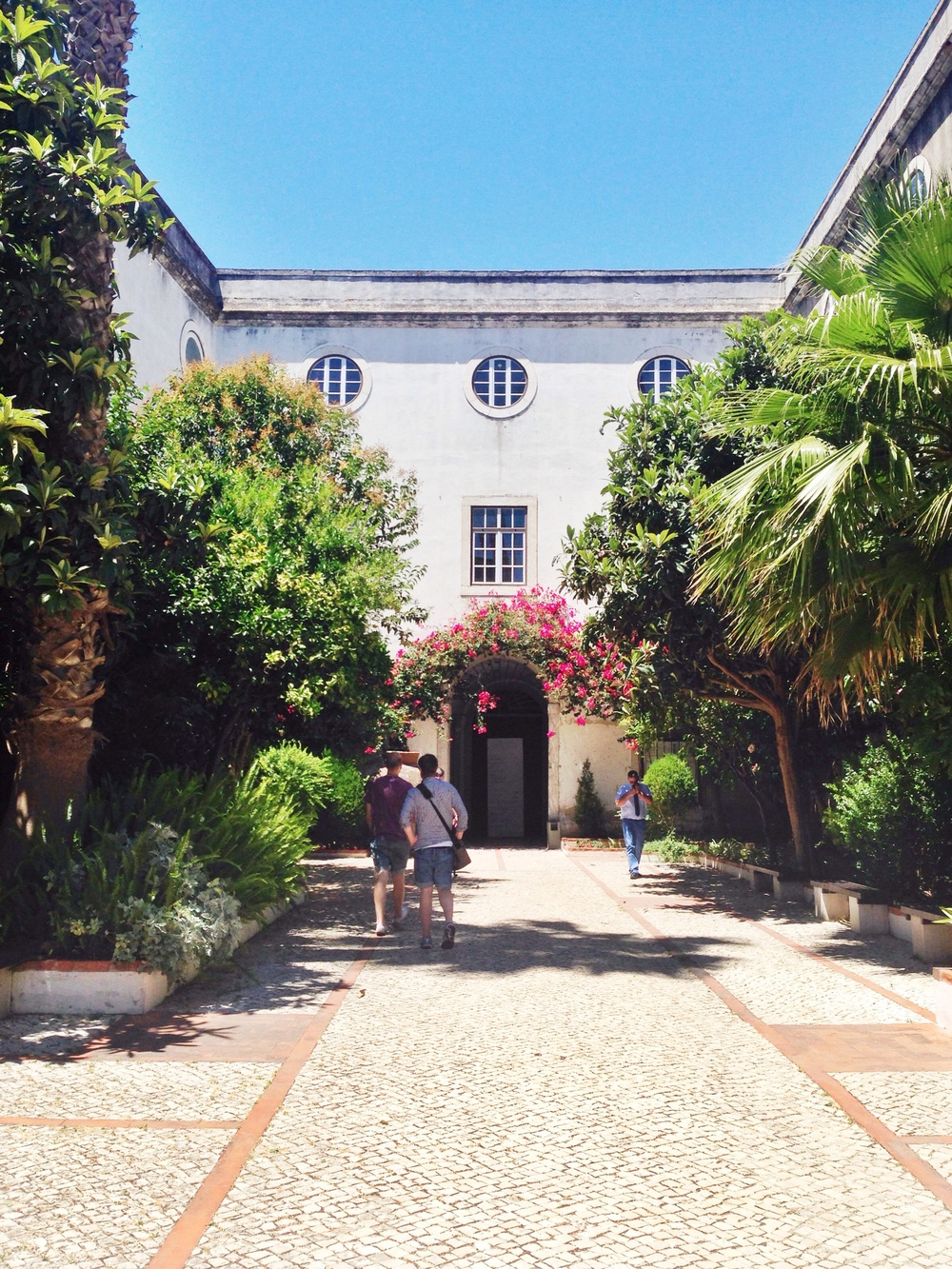 Entrace to Lisbon Tile Museum
