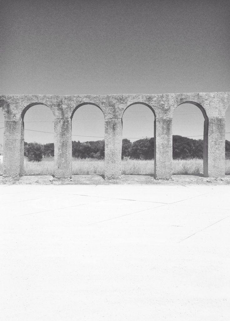 Aqueduct in Portugal