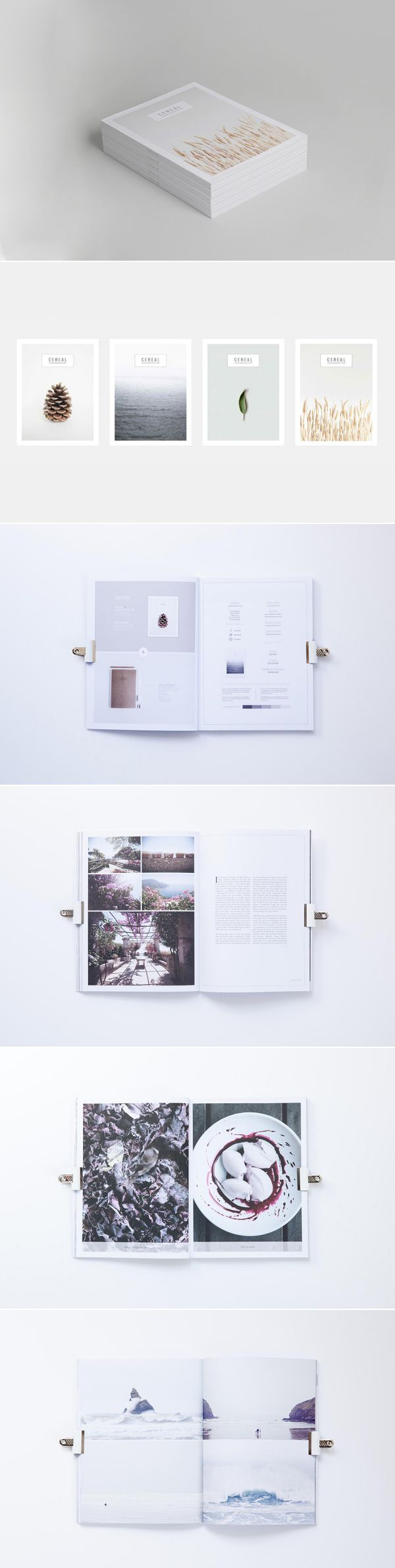 cereal magazine layout