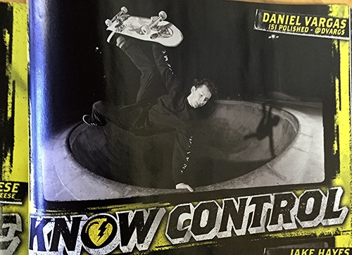 Daniel Vargas ft. in Thrasher Magazine