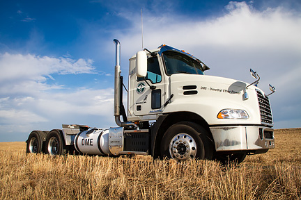 Here's the beauty shot of the truck; the portrait of John was an added bonus!
