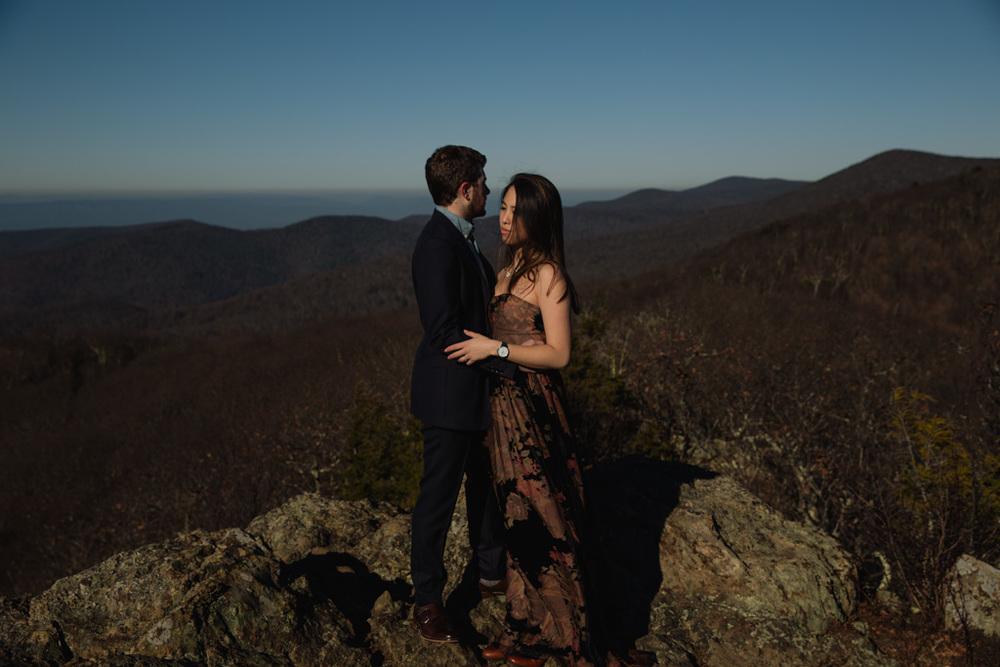 Bear Fence, Skyline Drive, Mountain Engagement