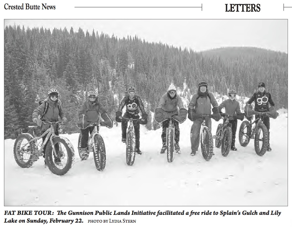 From the Crested Butte News
