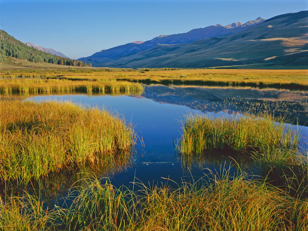 The Deer Creek Special Management Area would help protect the East River's Watershed. Photo Credit: John Fielder