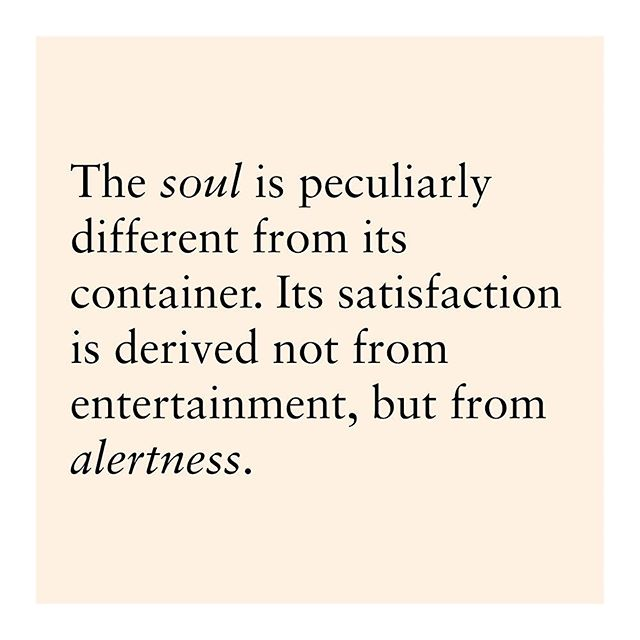 The soul and the container where it resides.
