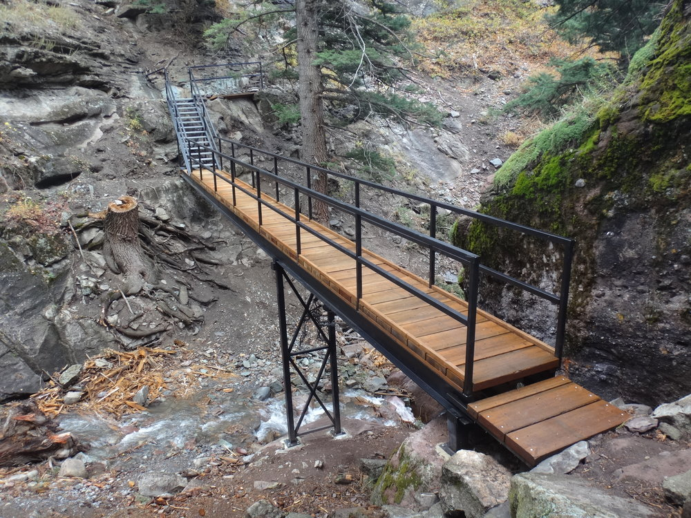Oak Creek Bridge: Ouray Colorado