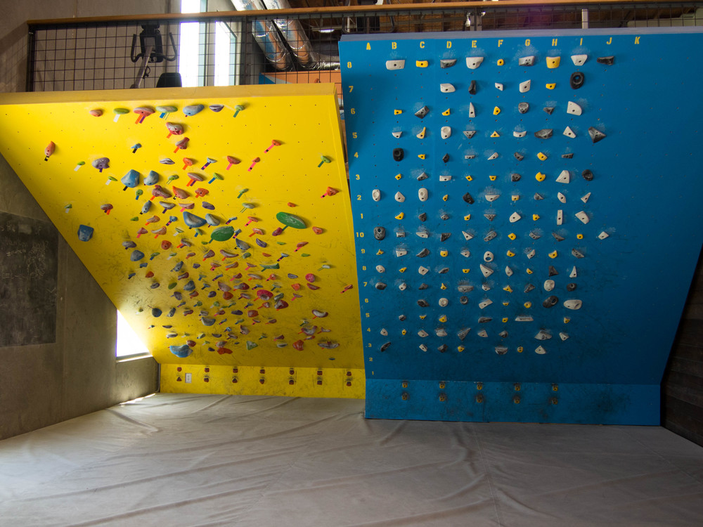 The Wall Climbing Gym – Bouldering Activity