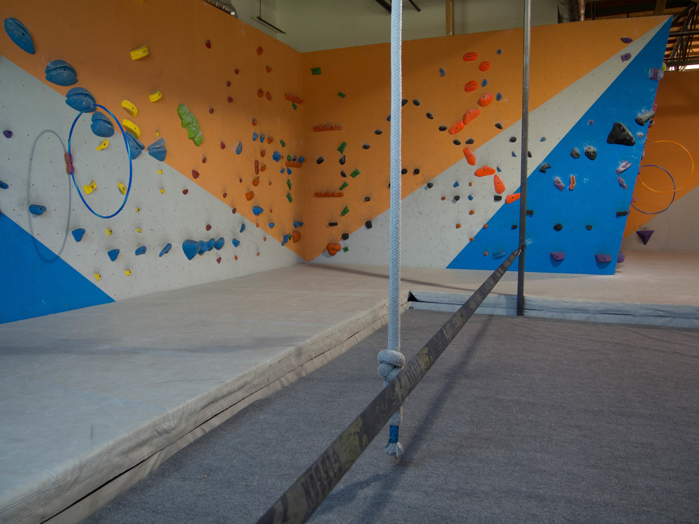 Birthday at The Wall Climbing Gym San Diego