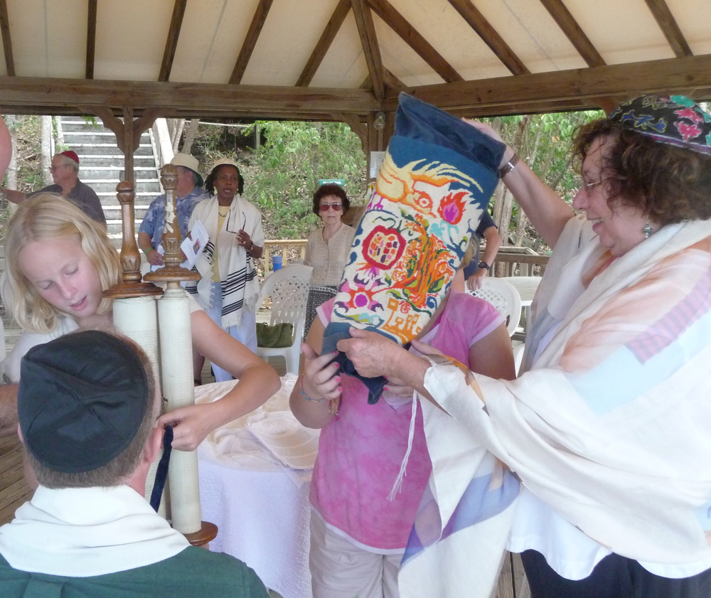 Celebrating Shabbat on St. John USVI