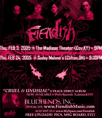 FIENDISH (2005)