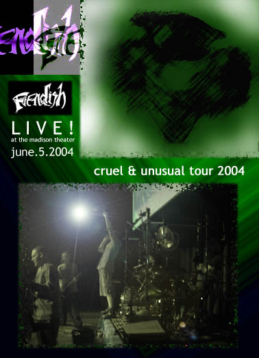 """LIVE! AT THE MADISON THEATER,"" DVD (2004)"