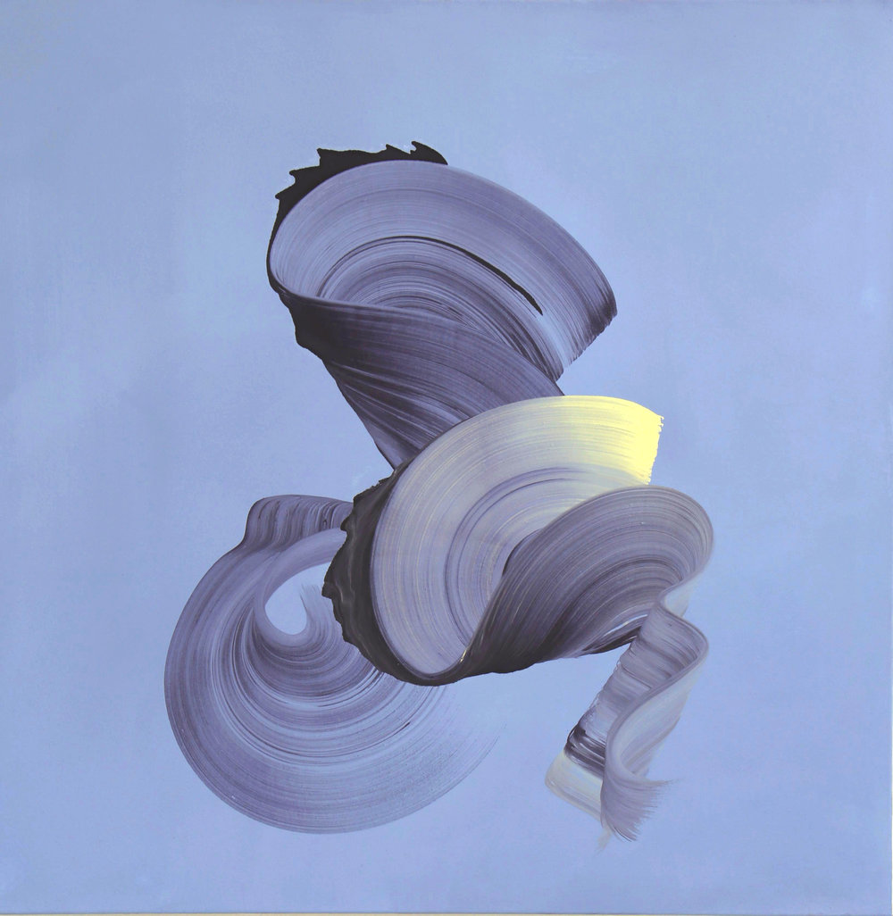 Yellow swirl_DragicaCarlin_OilonCanvas_100cm x 100cm.jpg