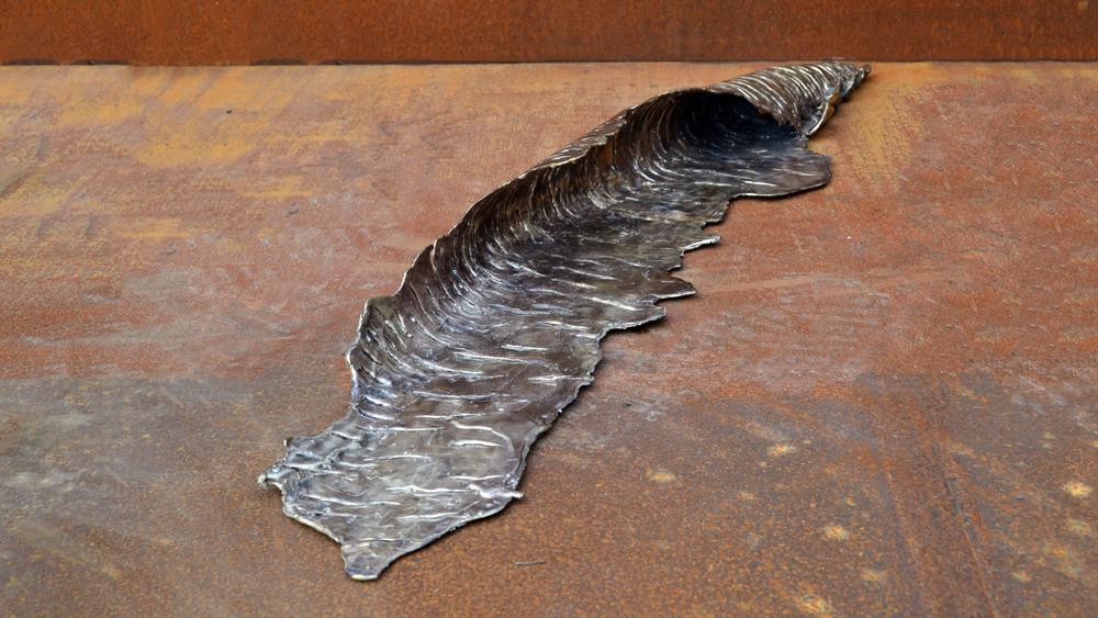 4' Bronze Wave
