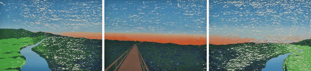 Panorama Triptic