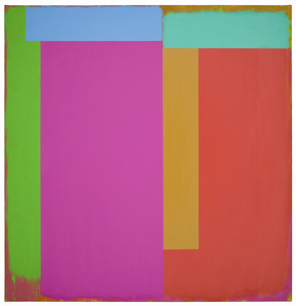 Marker/California, 1986, acrylic on canvas, 60 x 62 inches; 152.4 x 157.5 centimeters