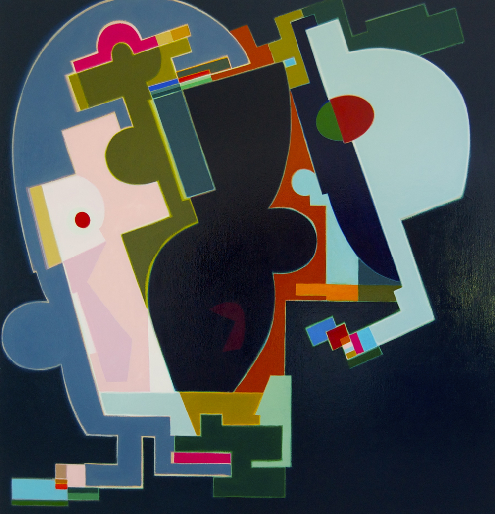 Time Will Explain , 2010 oil on canvas 54 x 52 inches; 137.2 x 132.1 centimeters