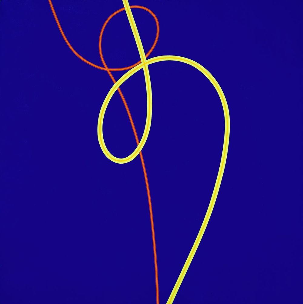 Untitled, 1971, acrylic on canvas, 60 x 60 inches; 152.4 x 152.4 centimeters, LSFA# 212