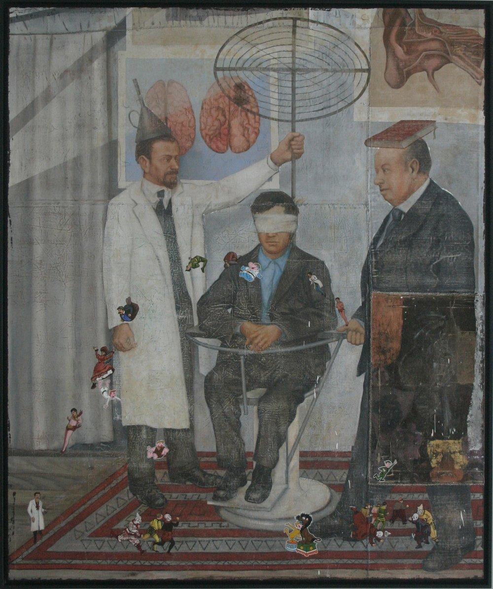 Armando Romero   Provider of Dreams , 2007 oil on canvas, 70 3/4 x 55 inches 179.7 x 139.7 centimeters