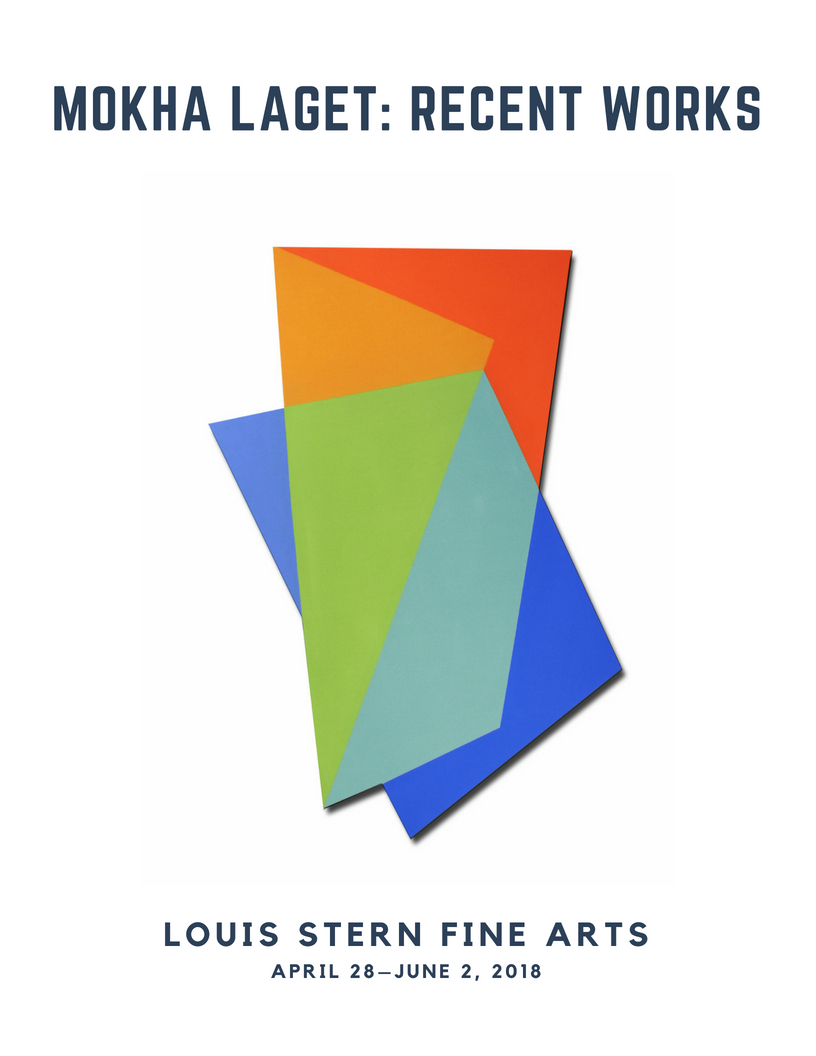 """Exhibition catalogue for """"Mokha Laget: Recent Works"""""""