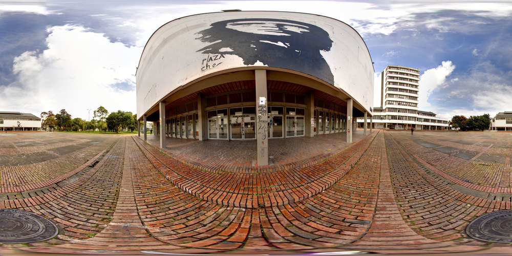 360° Plaza Che at the National Universidad de Bogotá