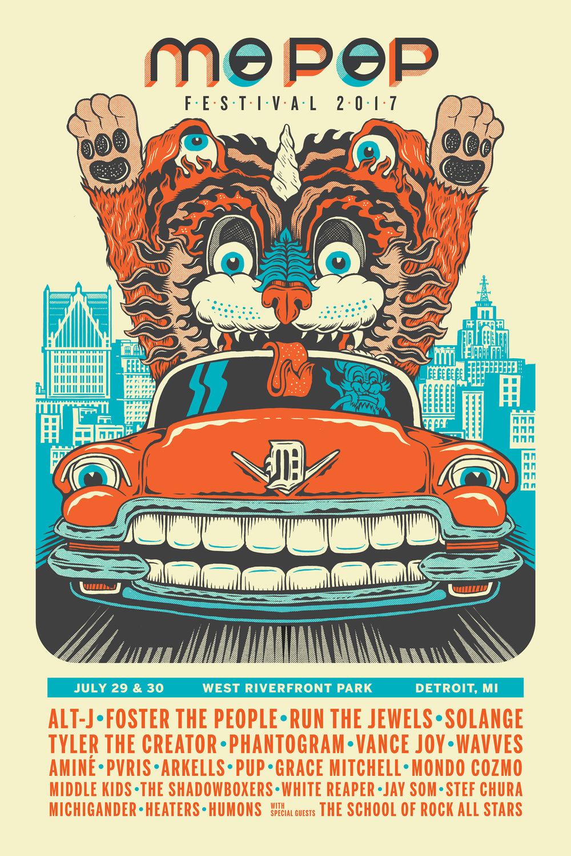 MoPop Festival Poster