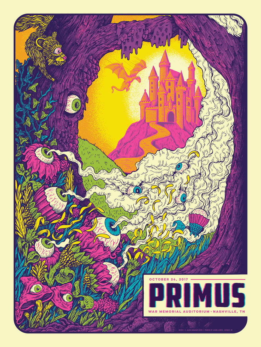 Primus Gig Poster