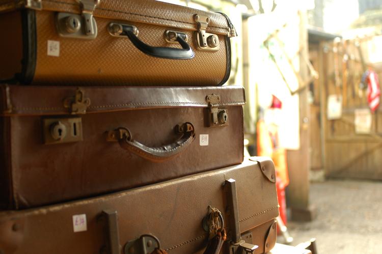 vintage suitcases
