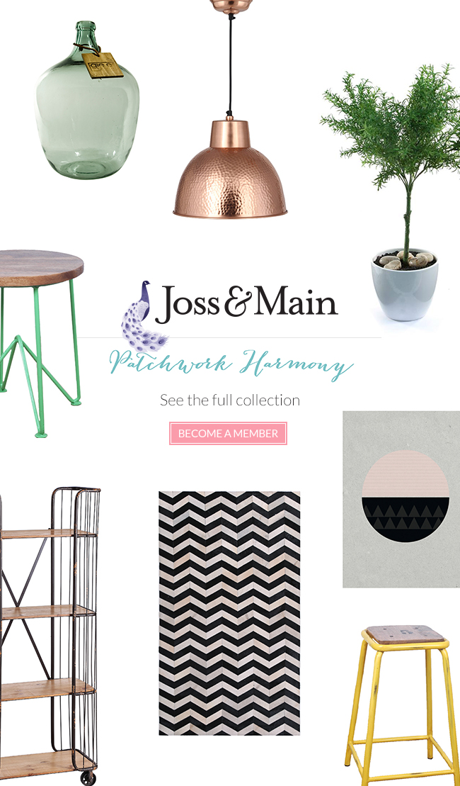 Get the patchwork harmony look at joss and main for Joss and main contact