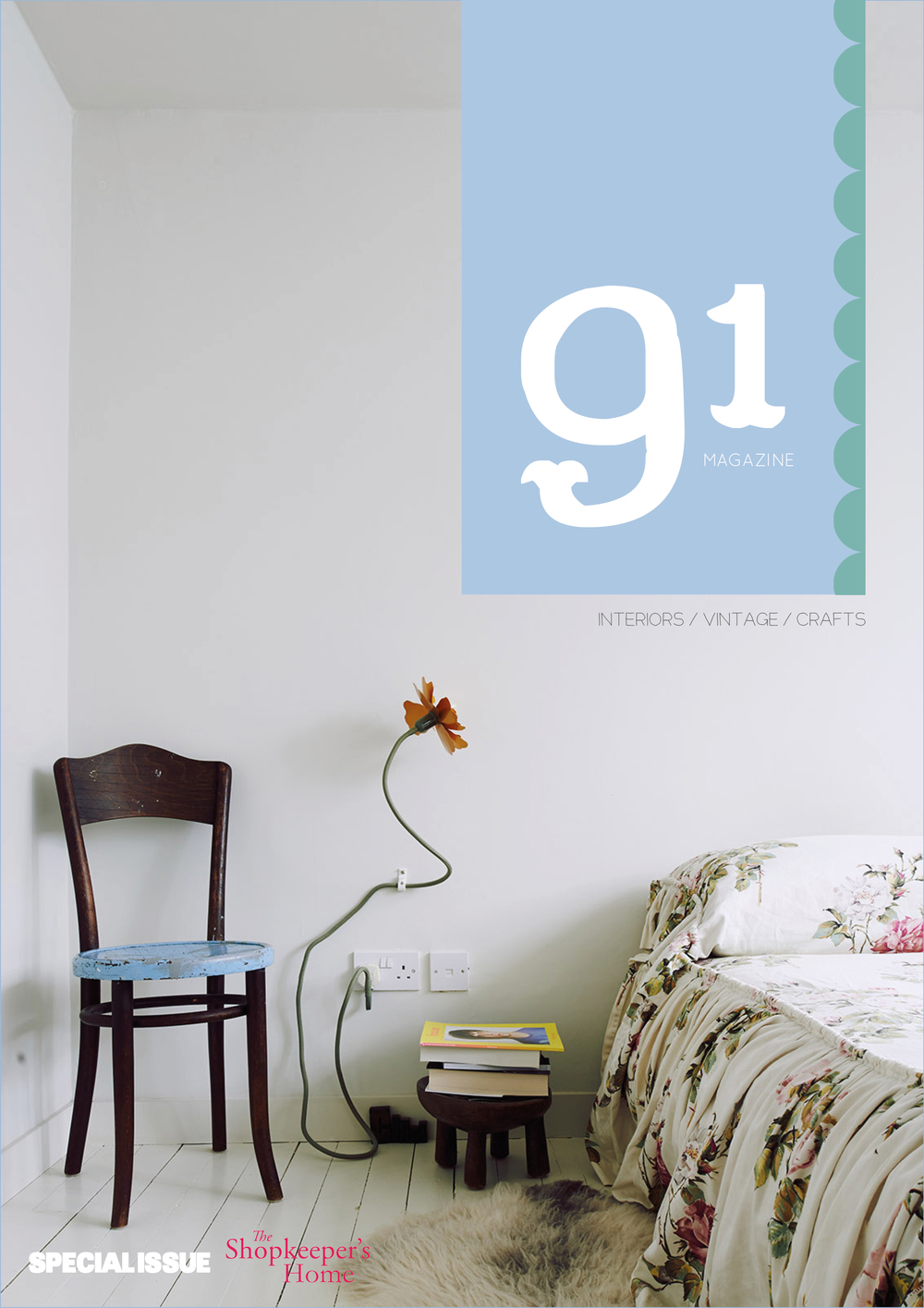 my book: special issue of 91 Magazine