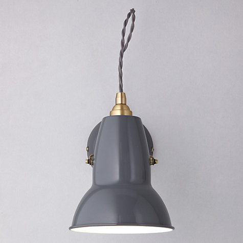 Anglepoise Original 1227 Brass Wall Light, £125,  John Lewis