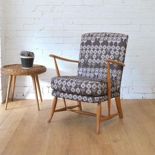 Vintage Ercol Armchair, Winters Moon, £445