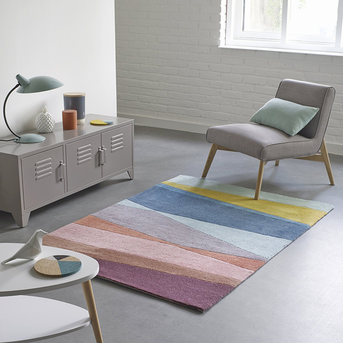 Pure tufted cotton rug  - £239